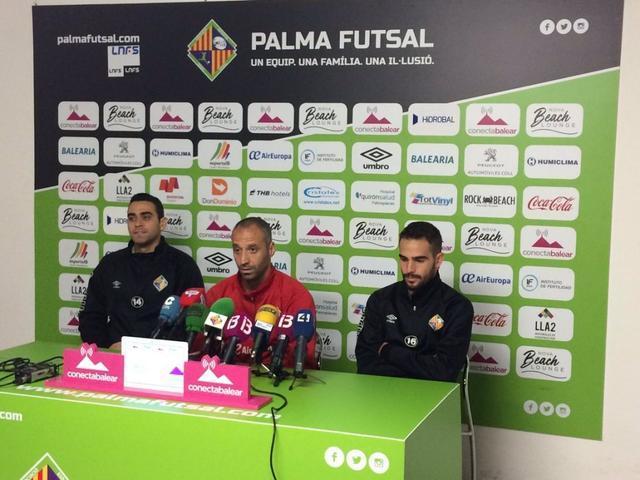 El conjunto mallorquín sigue sin dejar escapar ningún punto en lo que va de temporada (Foto: Palma Futsal)