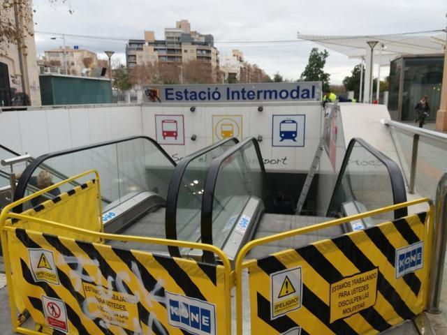 Estación intermodal cubierta acceso