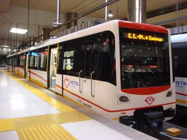 Los usuarios del metro de Palma aumentaron un 55,2% en octubre, el mayor incremento interanual (Foto: Archivo)
