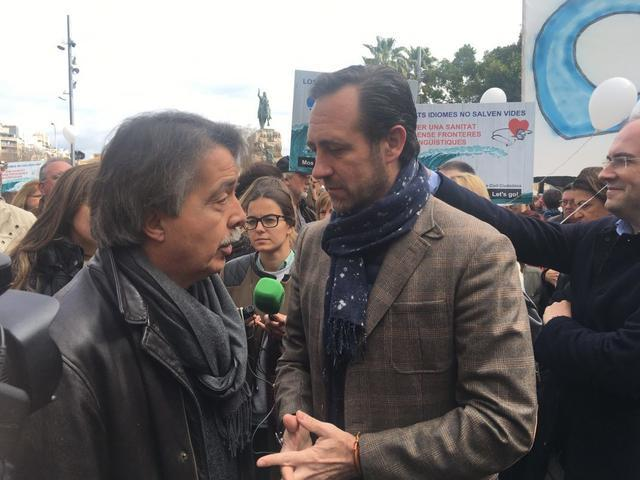 Manifestación Mos Movem requisito catalan medicos