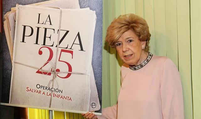 Pilar Urbano y la pieza 25