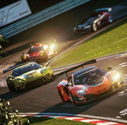 4 coches de carreras