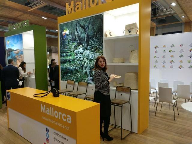 Paula Ginar en la ITB Berlin