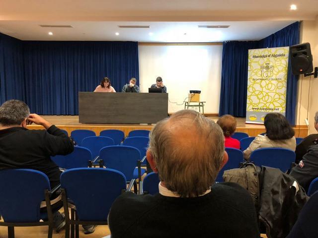 """Imagen de la charla 'Vols estalviar energia?"""", una iniciativa enmarcada en el Pla d'Acció per l'Energia Sostenible"""
