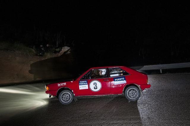 Rally Clásico Mallorca Jaime Carbonell Antonio Magraner Volkswagen Scirocco