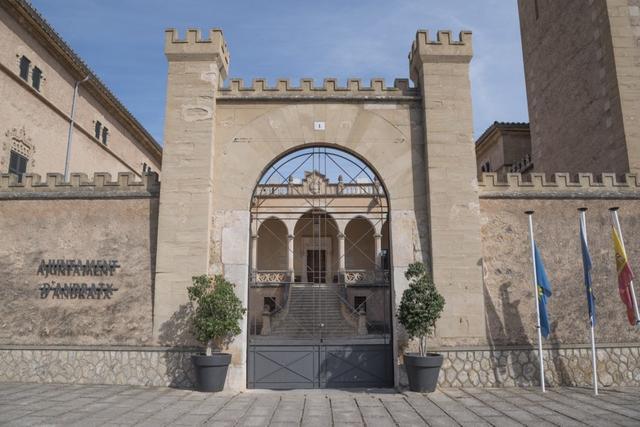 Ajuntament Ayuntamiento Andratx Castell Castillo