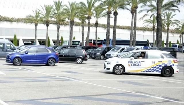 En marzo, los taxistas protagonizaron una huelga en el aeropuerto