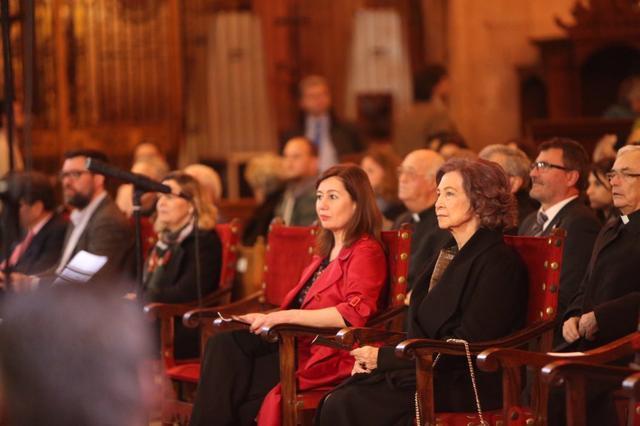 Francina Armengol Reina Sofia Catedral La Seu