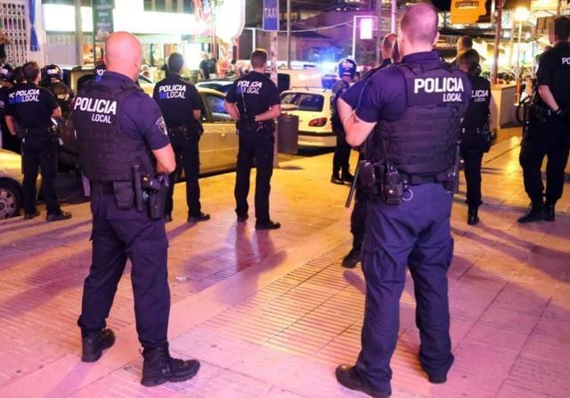 Policia Local agentes de noche