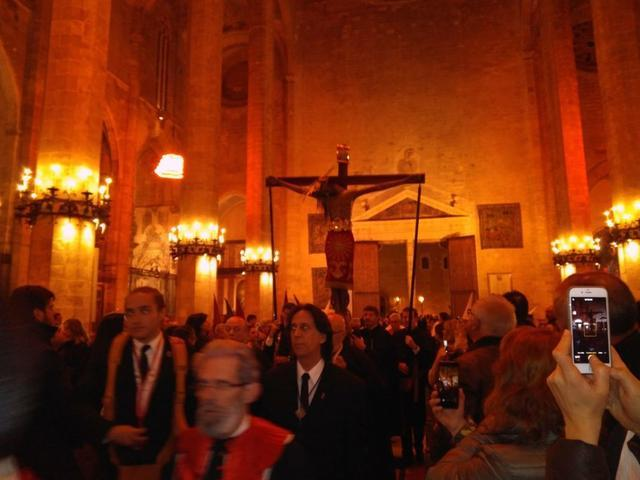 Crist de la Sang Cristo de la Sangre Catedral Mallorca La Seu