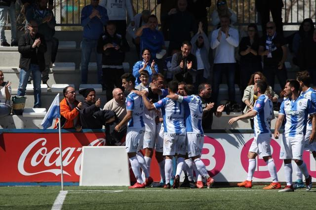 El Baleares gana ante el Hércules CF