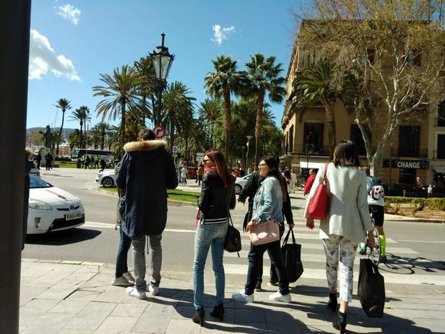 Turistas Palma 30 marzo 2018 3