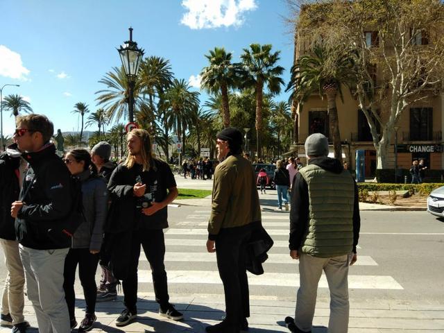 Turistas Palma 30 marzo 2108 2