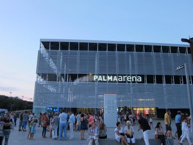Fachada del Palma Arena (Foto: Europa Press)