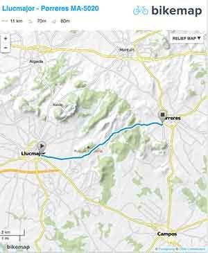 Carretera protegida Llucmajor-Porreres