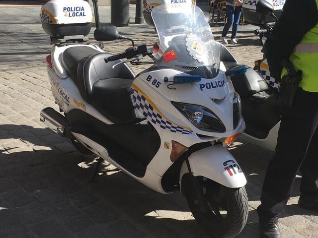 Policia Local Palma refuerzo verano agente motos