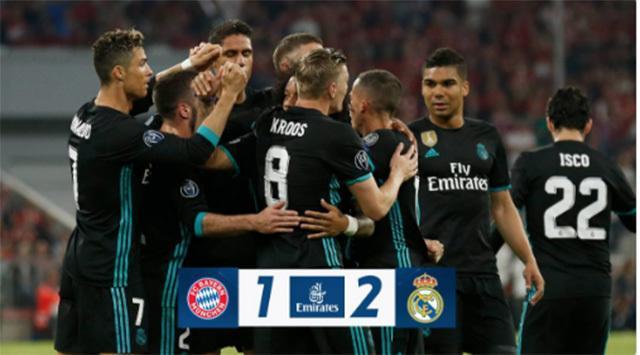 El Real Madrid gana al Bayern
