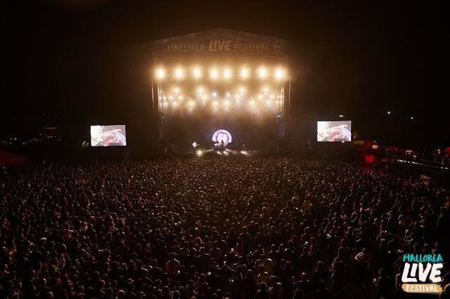 Panorámica del escenario principal del evento de este año (Foto: Mallorca Live Festival)