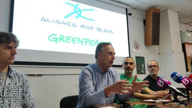 Prospecciones Greenpeace y Alianza Mar Blava