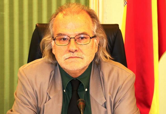El director general de IB3, Andreu Manresa, en la comisión de control parlamentaria del ente autonómico