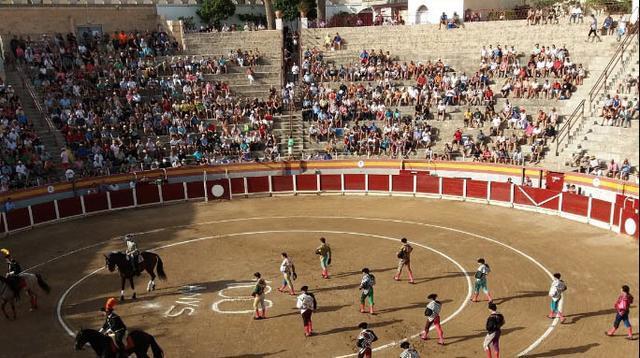 Plaza de toros de Muro (Archivo)