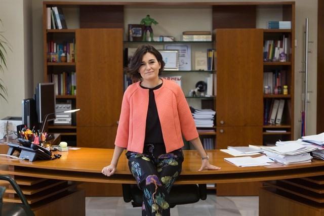 La ministra de Sanidad del Gobierno de Pedro Sánchez en la toma de posesión de su cargo (Foto: Moncloa)