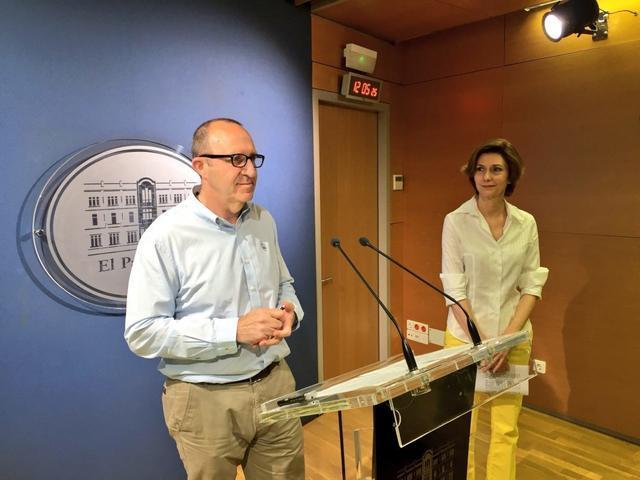 Bel Oliver y Andreu Alcover
