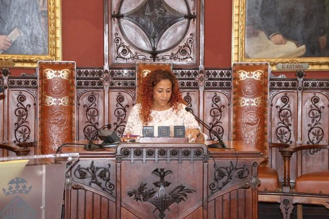 Aurora Jhardi debate del estado de Palma 3