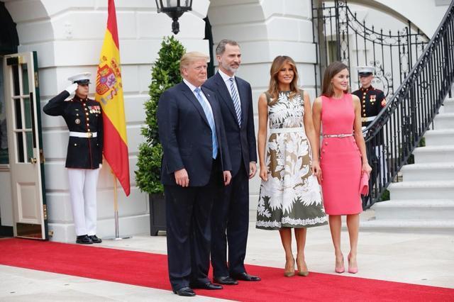 Reyes con Trump 1