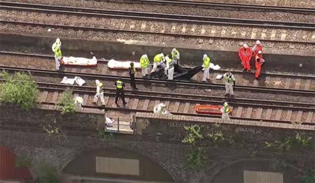 Alberto Fresneda, muerto en Londres grafitero arrollado por un tren