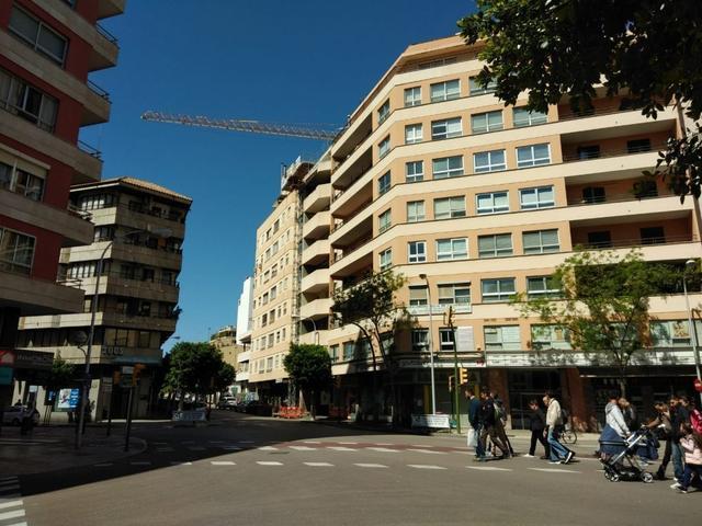 Bloque de edificios en alquiler, en el centro de Palma (Foto: archivo)