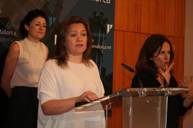 Mercedes Garrido y Natalia Troya