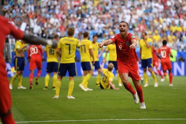 Inglaterra contra Suecia 4