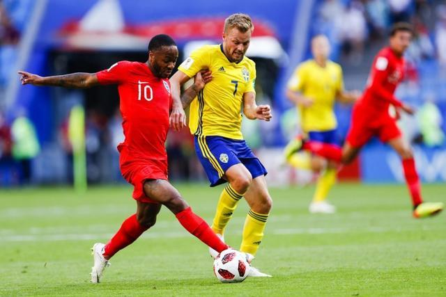 Inglaterra contra Suecia 6