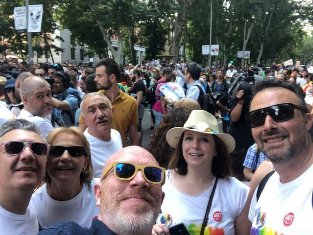 UGT LGTBI manifestacion