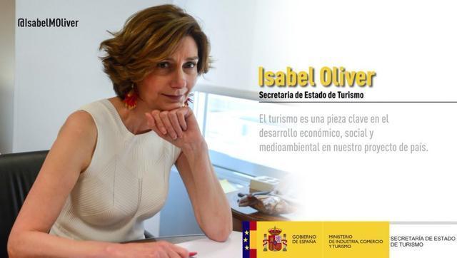 Isabel Oliver twitter