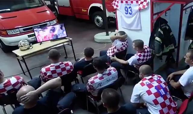 Bomberos croatas