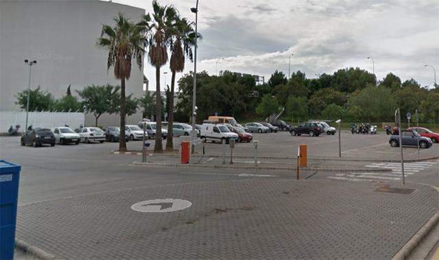 Parking aeropuerto de Palma