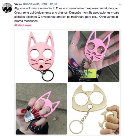 Uno de los polémicos tuits de la agente Sonia Vivas