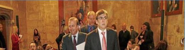 Jpoan Mesquida como secretario de Estado de Turismo en el Consolat de la Mar la legislatura de 2007-2011 (Archivo)