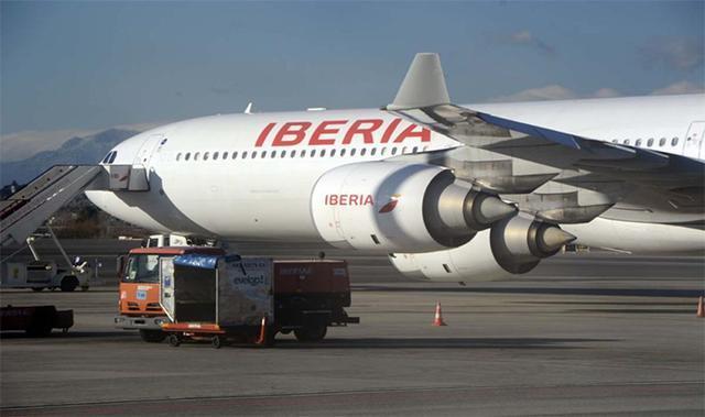 Avión de Iberia (Archivo)