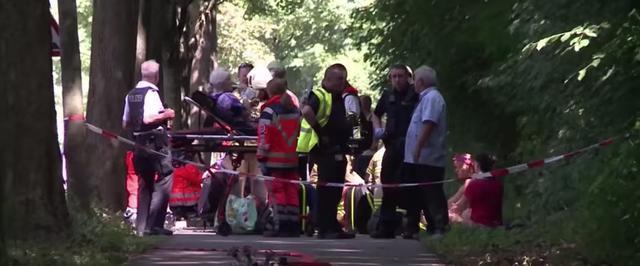 Los pasajeros del autobús que ha sufrido el ataque por parte de un joven de 30 años iraní