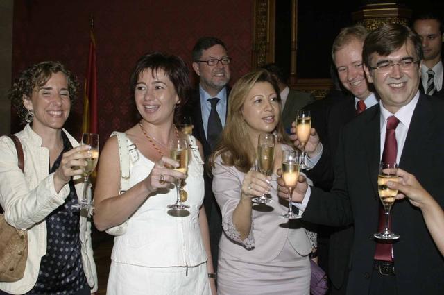 Antich, Munar, Armengol y Aina Calvo (Archivo)