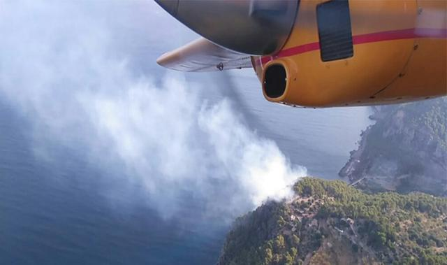 Incendio Cala Estellencs 5
