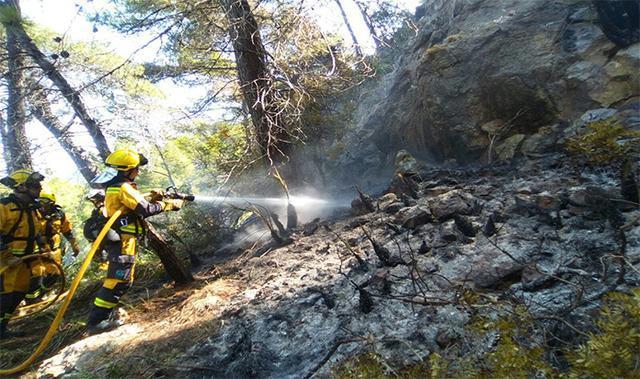 Incendio Cala Estellencs 6