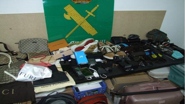 La banda de los 'lanza chilenos' robaba en casas de lujo de diferentes zonas de Mallorca (Foto: Guardia Civil)