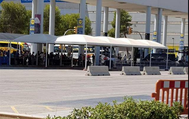 Taxis en el aeropuerto de Palma