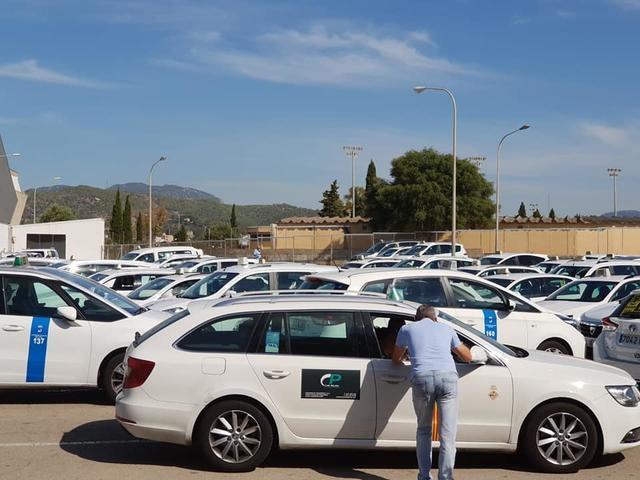 Taxistas de Mallorca 2