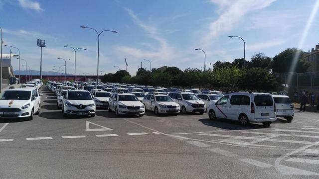 Taxistas de Mallorca 3