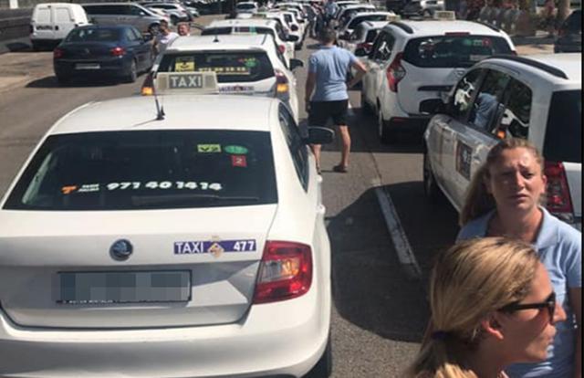 Taxistas de Mallorca
